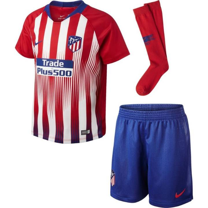 Nike Atletico Madrid Home Kit 2018/19 - Little Kids Image