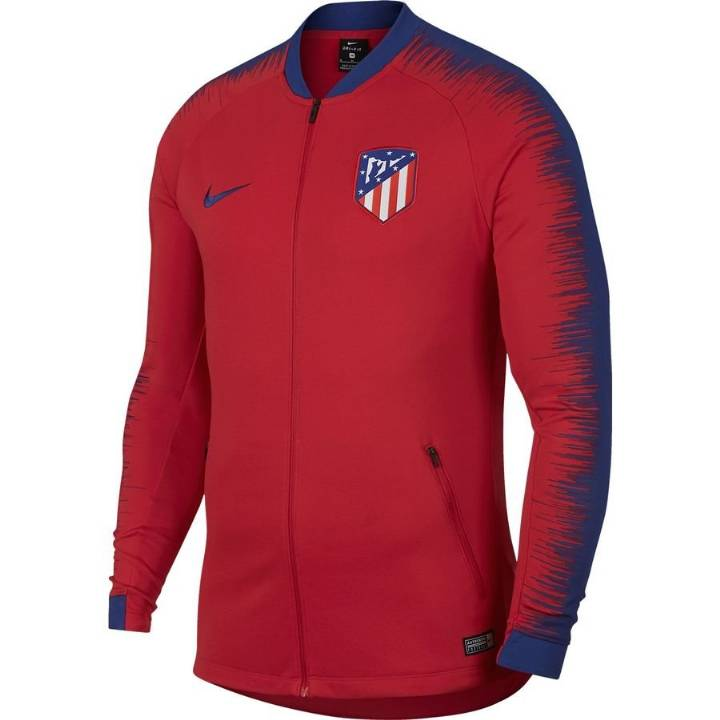 Nike Atletico Madrid Anthem Training Jacket 2018/19 - Red - Mens Image