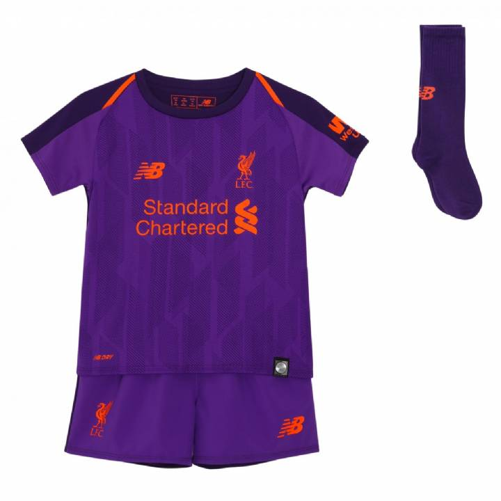 New Balance Liverpool Away Kit 2018/19 - Infants Image