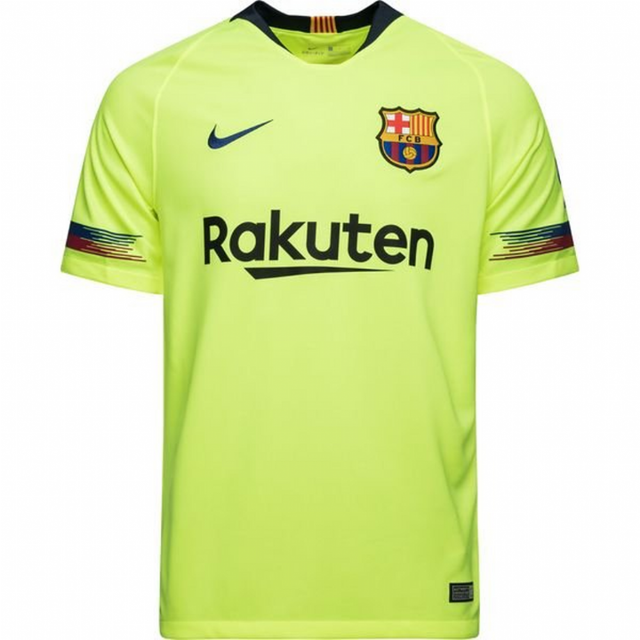72d0e3816626c Nike Barcelona Away Shirt 2018 19 - Mens Image