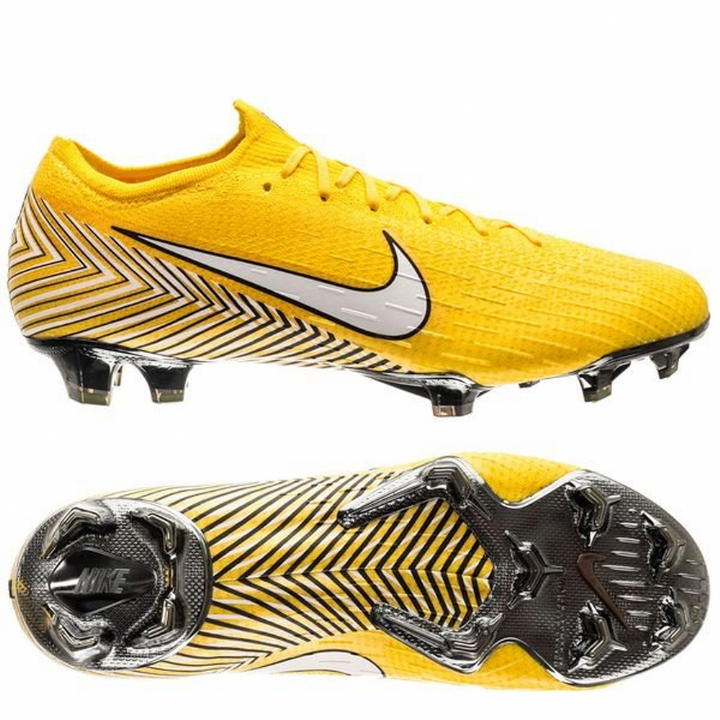 Nike Mercurial Vapor  XII 12 Elite NJR Firm Ground Football Boots - Amarillo/White/Black Image