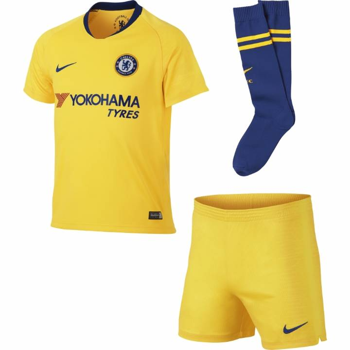 Nike Chelsea Away Kit 2018/19 - Little Kids Image