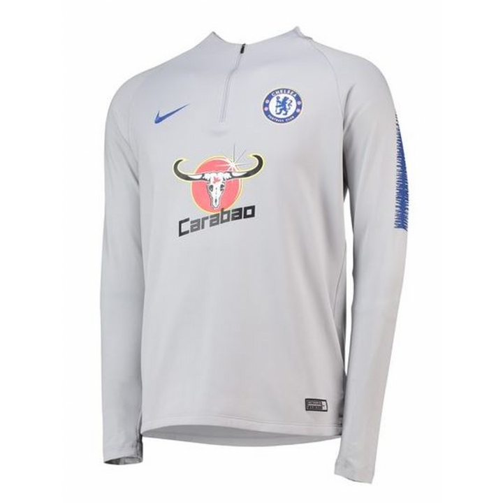 Nike Chelsea Training Squad Drill Top 2018/19 - Grey - Mens Image