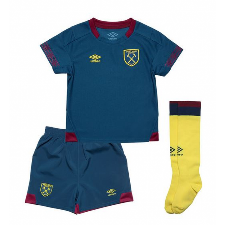 Umbro West Ham United Away Kit 2018/19 - Little Kids Image