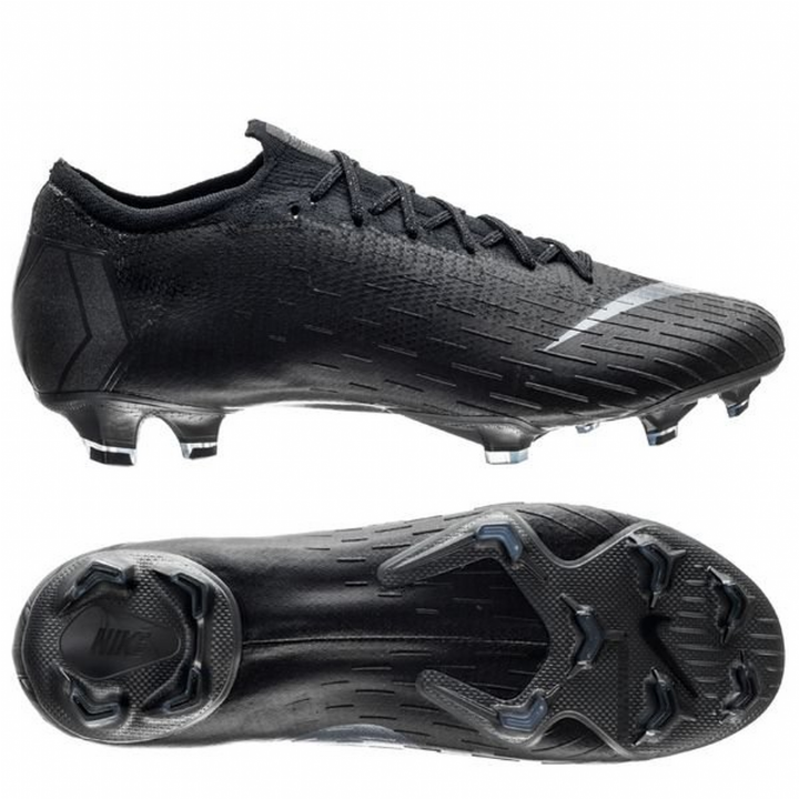 Nike Mercurial Vapor 12 XII Elite Firm Ground Football Boots - Black Image