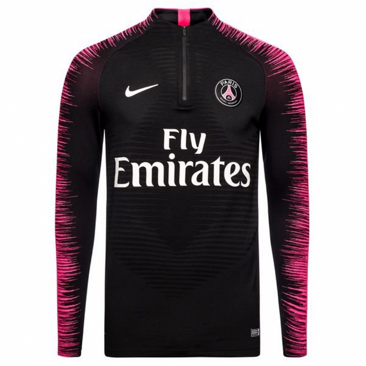 Nike PSG Paris Saint-Germain Strike Aeroswift Training Drill Top - Black - Mens Image