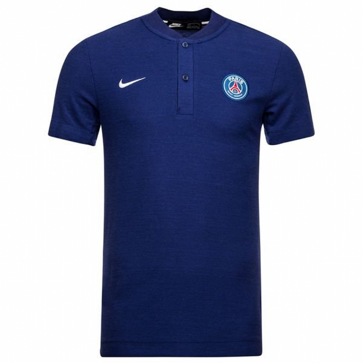 Nike PSG Paris Saint-Germain Authentic Grand Slam Polo Shirt 2018/19 - Mens Image