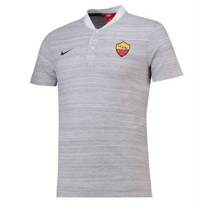77e7b0d32965d Nike AS Roma Authentic Grand Slam Polo Shirt 2018 19 - Mens Image
