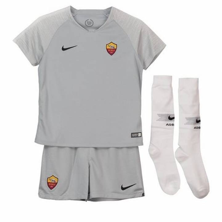 Nike AS Roma Away Kit 2018/19 - Little Kids Image