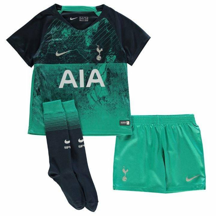 Nike Tottenham Hotspur Third Kit 2018/19 - Little Kids Image