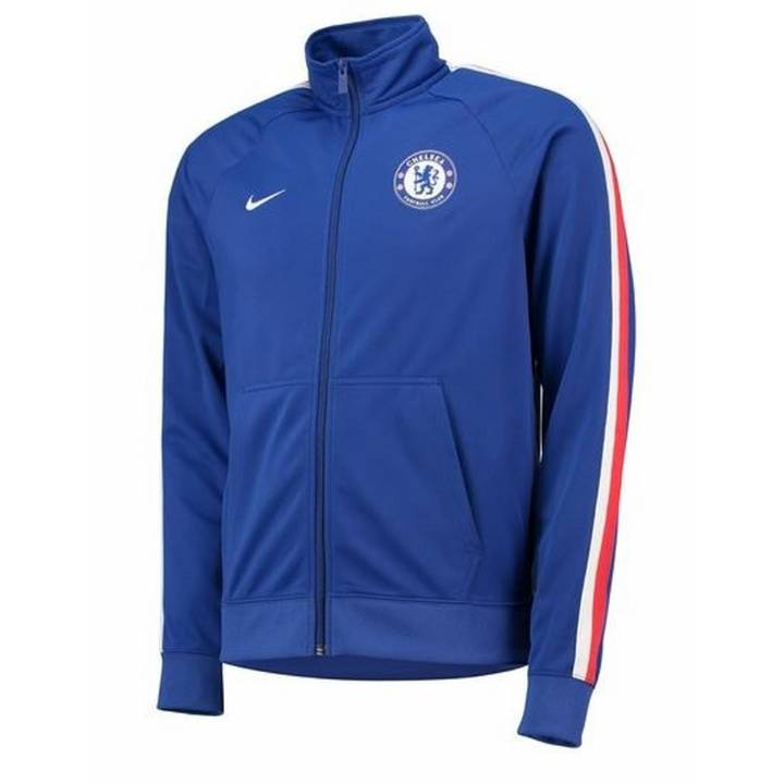 Nike Chelsea Core Track Jacket 2018/19 - Blue - Mens Image