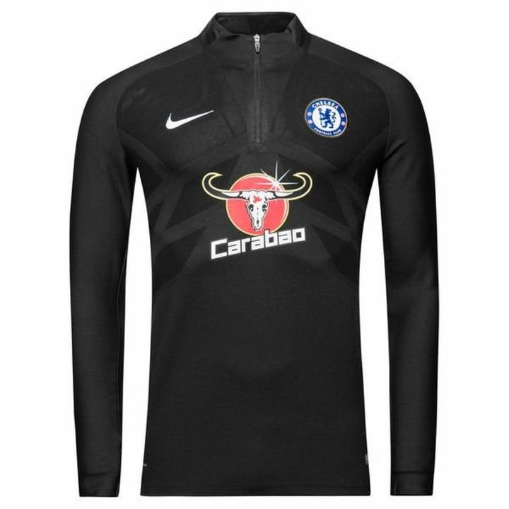 Nike Chelsea Strike Aeroswift Training Drill Top 2017/18 - Black - Mens Image