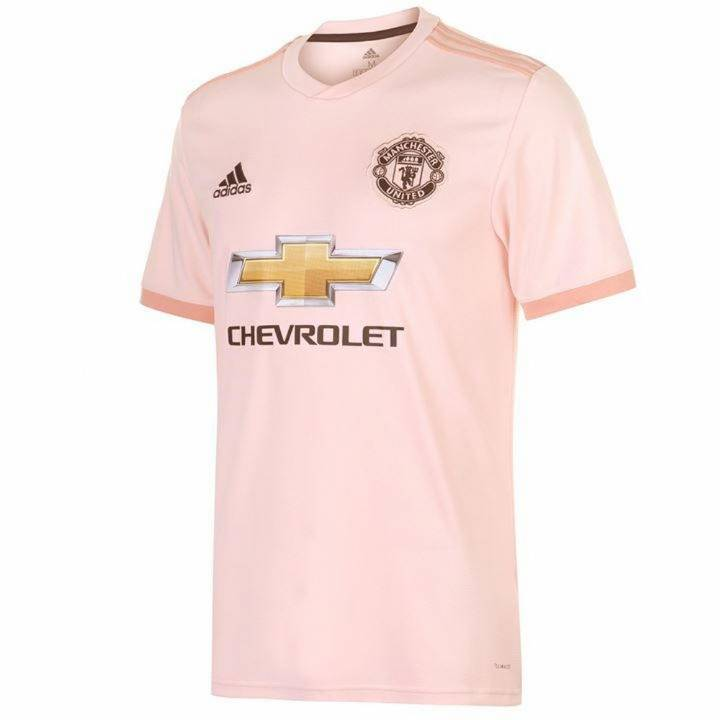 adidas Manchester United Away Shirt 2018/19 - Mens Image