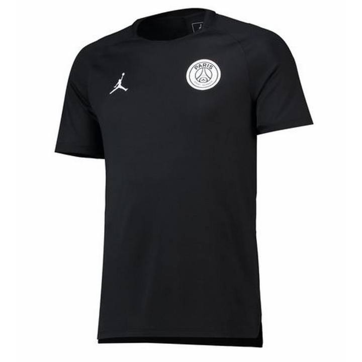 Jordan Paris Saint-Germain PSG Pre-Match Shirt 2018/19 - Black - Mens Image
