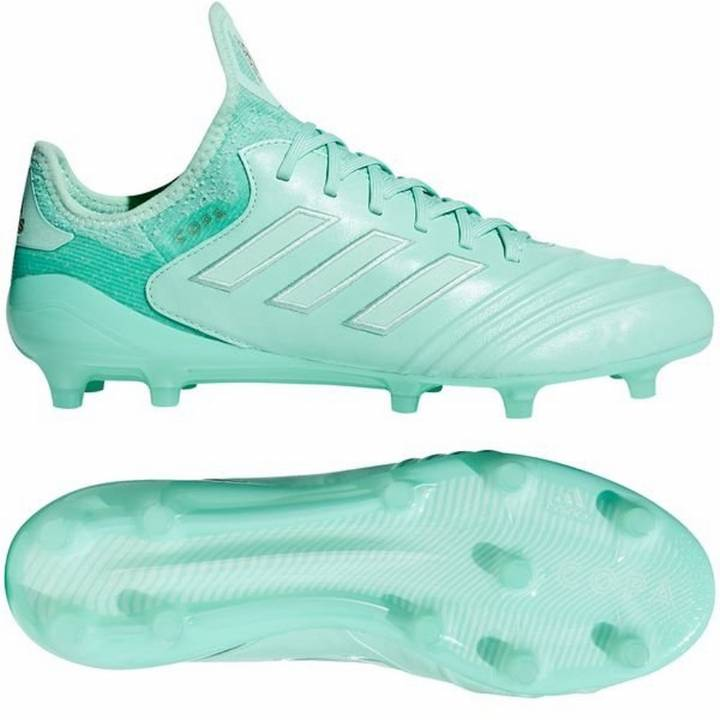 adidas Copa 18.1 FG Firm Ground Football Boots - Clear Mint/Gold Metallic