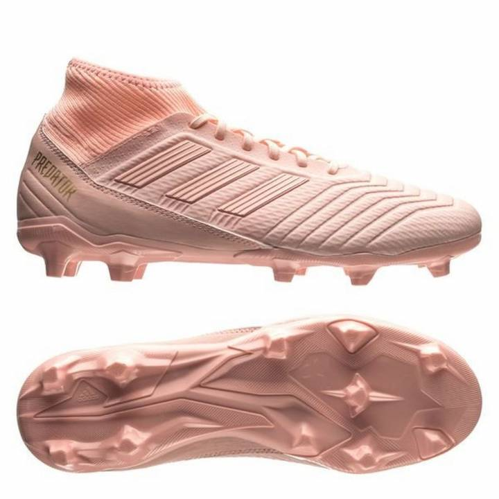 ... new style 360c2 c7e7c adidas Predator 18.3 FG Firm Ground Football  Boots - Trace Pink ... 9644c8ef3