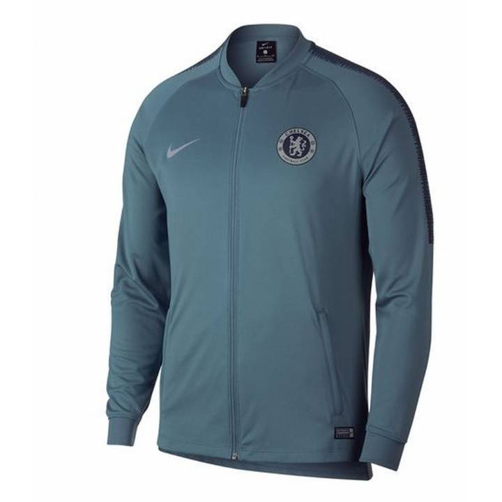 Nike Chelsea Training Squad Track Jacket 2018/19 - Green - Mens Image