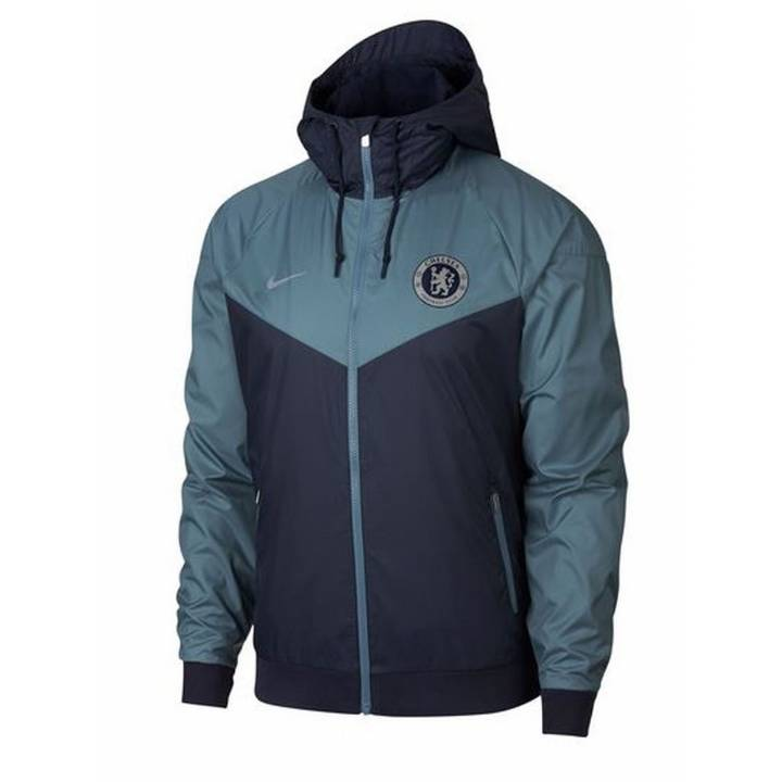 Nike Chelsea Authentic Windrunner Jacket 2018/19 - Dark Blue - Mens Image