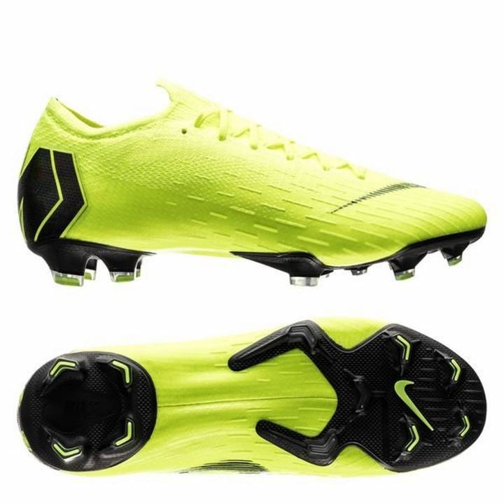 Nike Mercurial Vapor XII 12 Elite FG Firm Ground Football Boots - Neon / Black Image