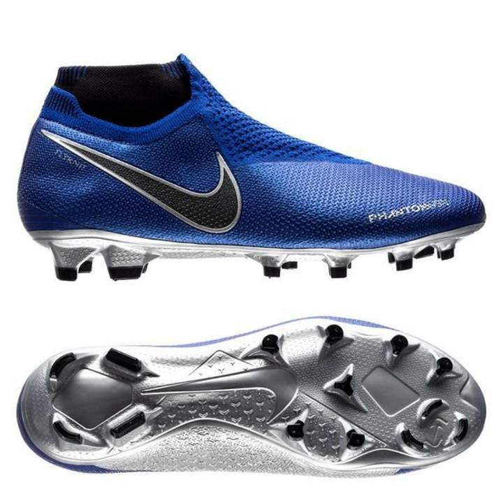 Nike Phantom Vision Elite Dynamic Fit FG Firm Ground Football Boots - Racer Blue/Black Image