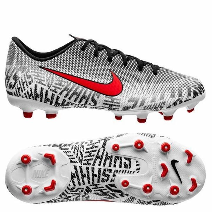 Nike Mercurial Vapor 12 Academy NJR Multi-Ground Football Boots - White - Kids Image
