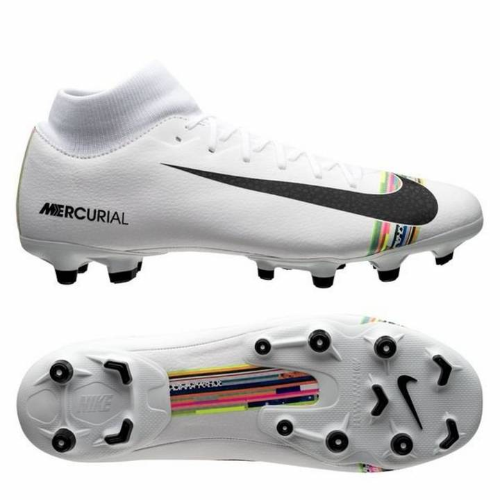 Nike Mercurial Superfly VI 6 Academy FG MG LVL UP Football Boots - Pure Platinum/Black/White Image