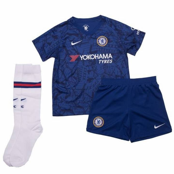 Nike Chelsea Home Kit 2019/20 - Little Kids Image