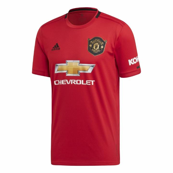 adidas Manchester United Home Shirt 2019/20 - Mens Image