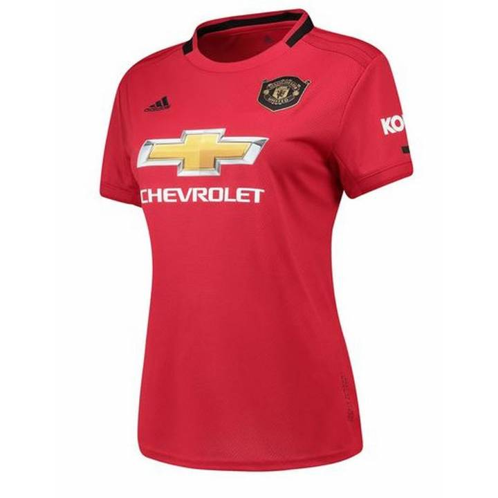 adidas Manchester United Home Shirt 2019/20 - Womens Image