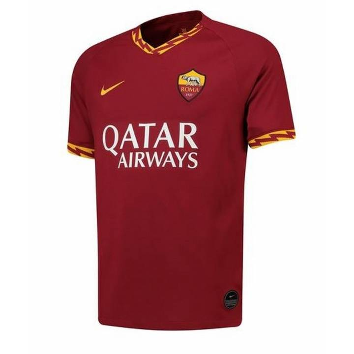 Nike AS Roma Home Shirt 2019/20 - Mens Image