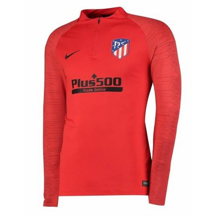 Nike Atlético de Madrid Strike Drill Training Top 2019/20 - Red - Mens Image