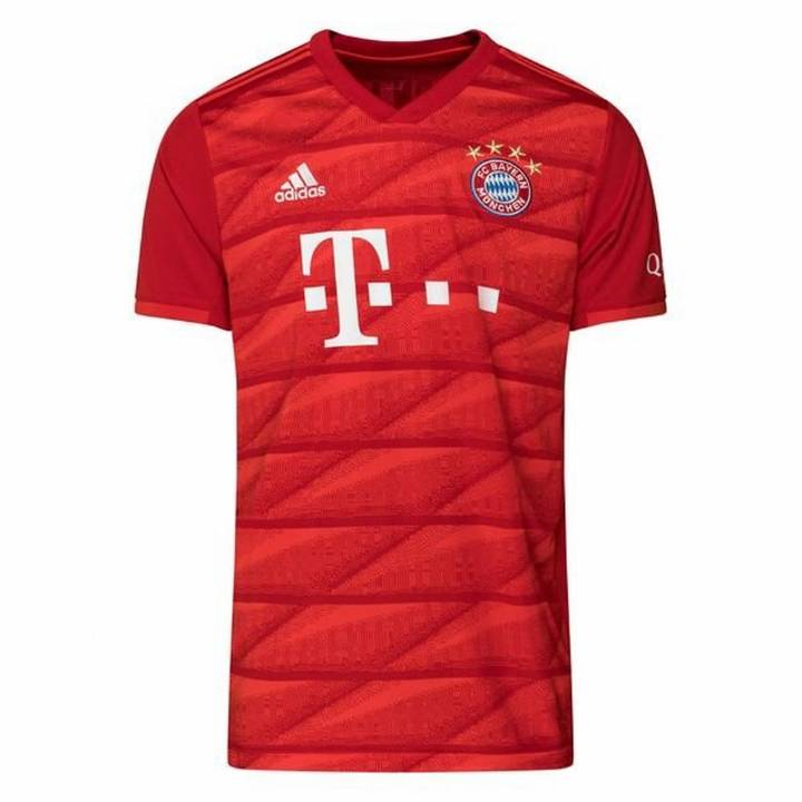 adidas Bayern Munich Home Shirt 2019/20 - Mens Image