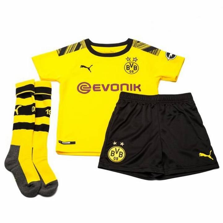 Puma Dortmund Home Kit 2019/20 - Kids Image