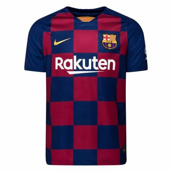 Nike Barcelona Home Shirt 2019/20 - Kids Image