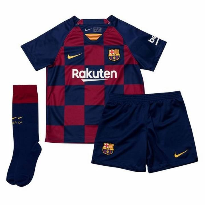Nike Barcelona Home Kit 2019/20 - Little Kids Image