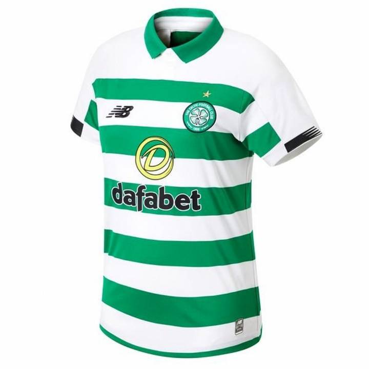 New Balance Celtic Home Shirt 2019/20 - Mens Image