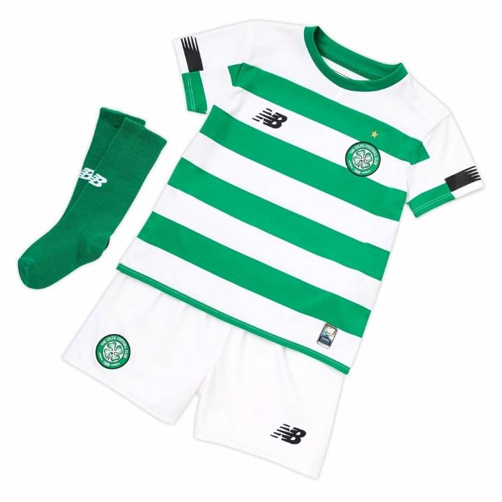 New Balance Celtic Home Kit 2019/20 - Infants Image