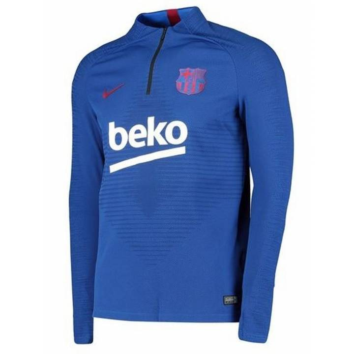 Nike Barcelona Vaporknit Strike Training Drill Top 2019/20 - Blue - Mens Image