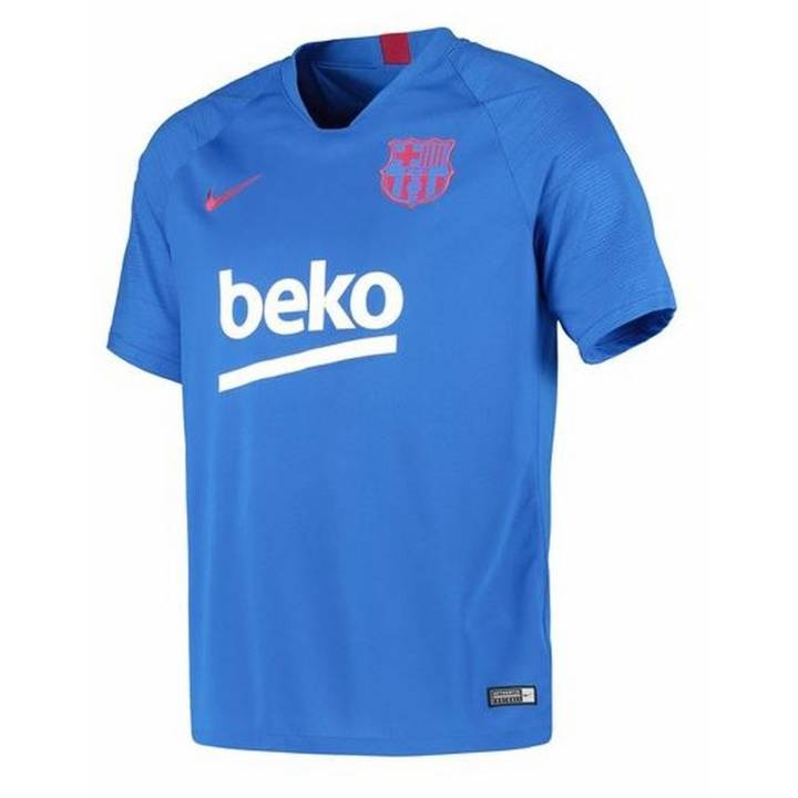Nike Barcelona Strike Training Shirt 2019/20 - Blue - Mens Image