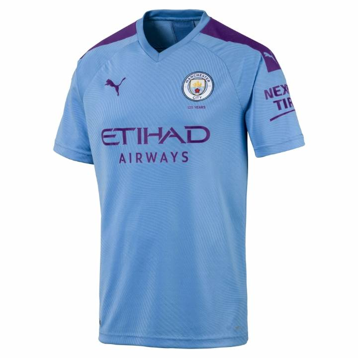 Puma Manchester City Home Shirt 2019/20 - Mens