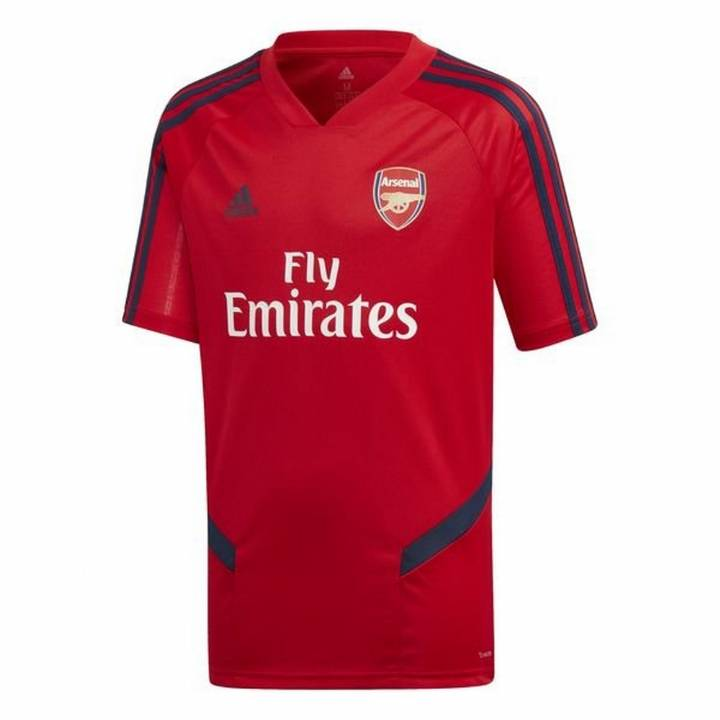 adidas Arsenal Training Shirt 2019/20 - Red - Mens Image