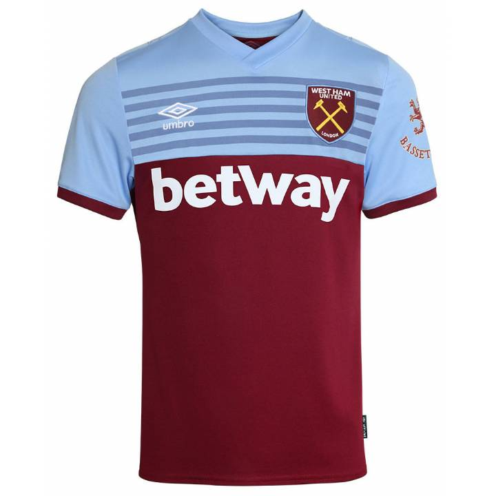 Umbro West Ham United Home Shirt 2019/20 - Mens Image