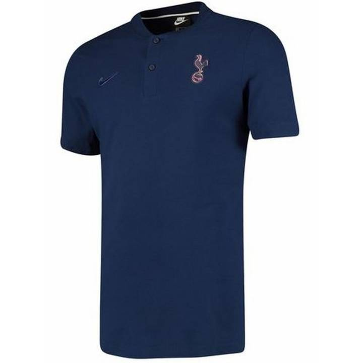 Nike Tottenham Hotspur Authentic Grand Slam Polo Shirt 2019/20 - Blue - Mens Image