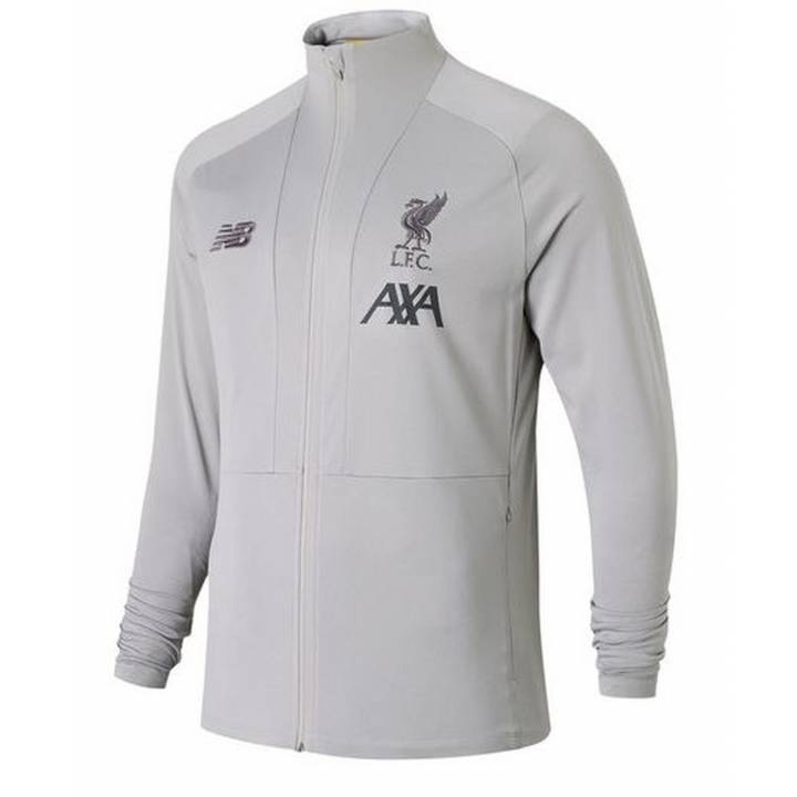 New Balance Liverpool Travel Knitted Jacket 2019/20 - Grey - Mens