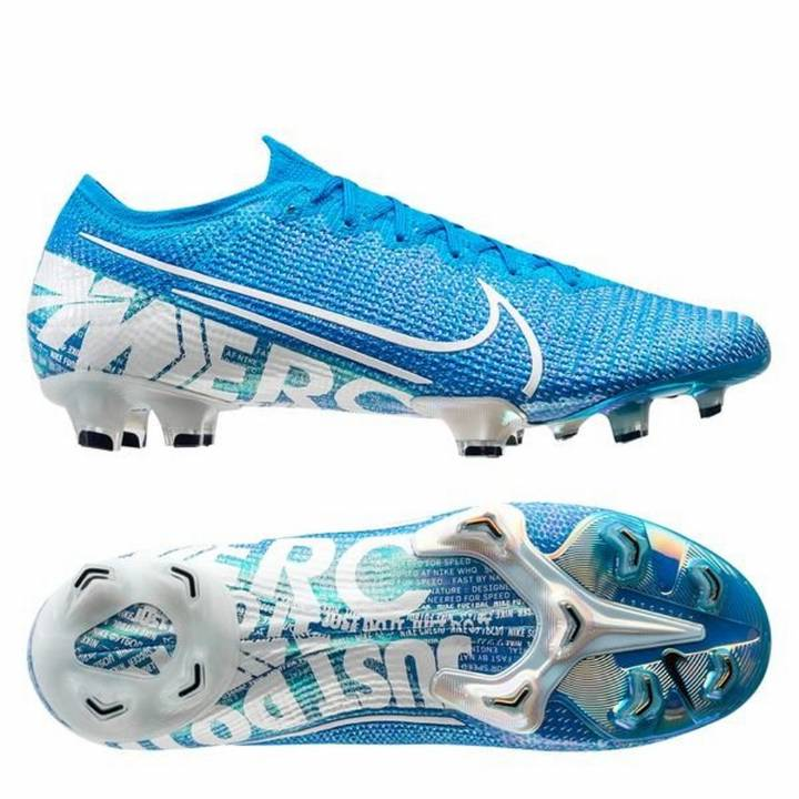 Nike Mercurial Vapor 13 Elite FG Football Boots - Blue Hero/White Image