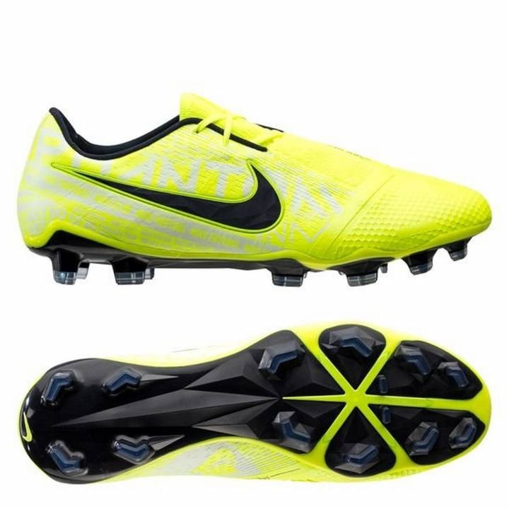 Nike Phantom Venom Elite FG Football Boots - Volt/White Image