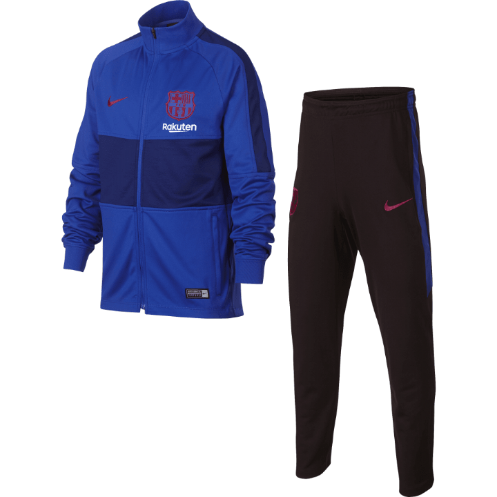 Nike Barcelona Strike Training Tracksuit 2019/20 - Blue - Kids Image