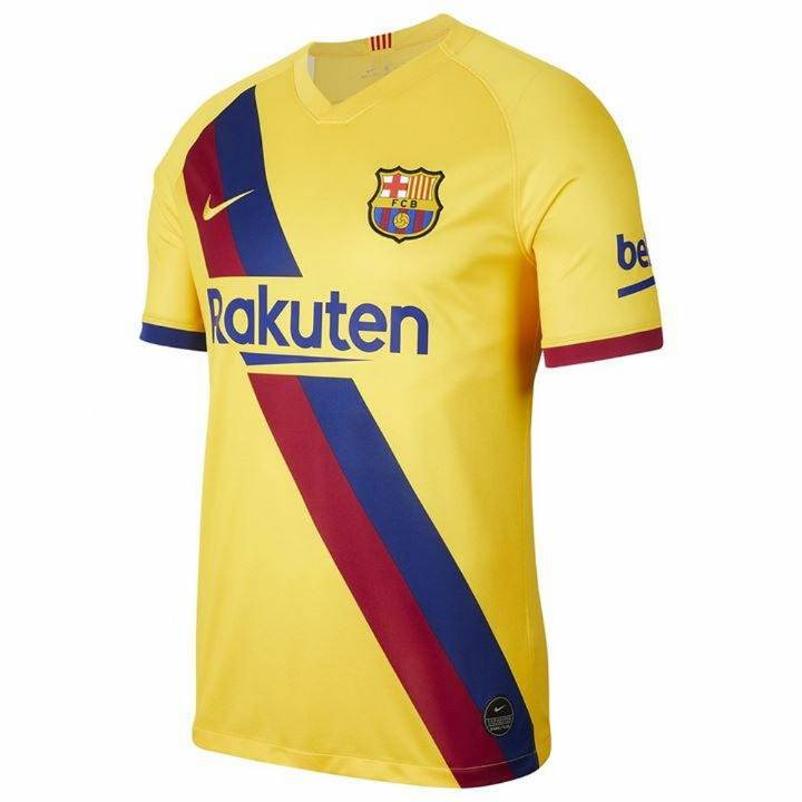 Nike Barcelona Away Shirt 2019/20 - Kids Image