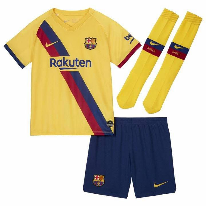 Nike Barcelona Away Kit 2019/20 - Little Kids Image