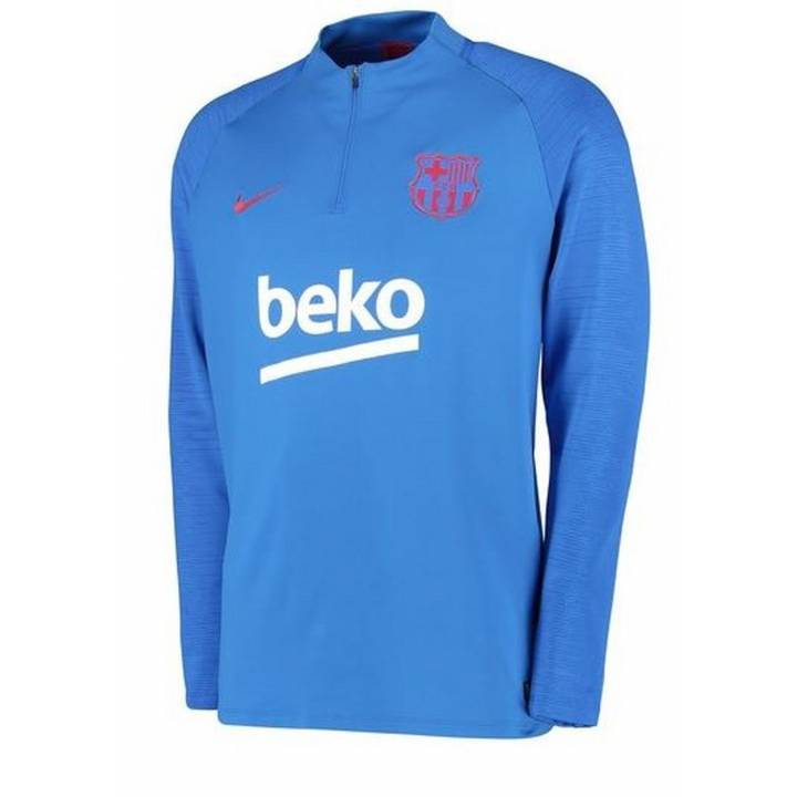 Nike Barcelona Strike Training Drill Top 2019/20 - Blue - Mens Image